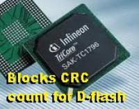 Опция подсчёта CRC Tricore