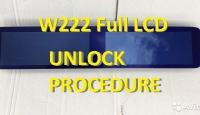 Разлочка  MCU R7F701414 панели приборов W222 FullLCD VDO 2018-09.2019гг.