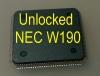 MCU W190 (D70F3525) с разлоченной прошивкой