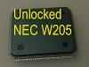 MCU W205 (D70F3525) с разлоченной прошивкой