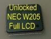 MCU W205 Full LCD (D70F3525) с разлоченной прошивкой