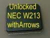 MCU W213 LOW (D70F3525) с разлоченной прошивкой