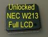 MCU W213 Full LCD (D70F3525) с разлоченной прошивкой