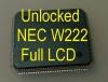 MCU W222 Full LCD (D70F3525) с разлоченной прошивкой