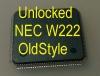 MCU W222 oldStyle (D70F3525) с разлоченной прошивкой