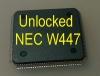 MCU W447 (D70F3525) с разлоченной прошивкой